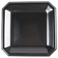 Genpak SQ10 Premium 10 inch Laminated Black Foam Plate - 400/Case