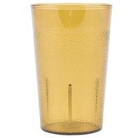 Carlisle 550113 5 oz. Amber SAN Plastic Stackable Tumbler - 72/Case