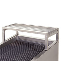 Bakers Pride XX40PT-08 Countertop Charbroiler Overhead Back Shelf