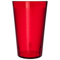 Carlisle 523210 Stackable 32 oz. Ruby SAN Plastic Tumbler - 24/Case