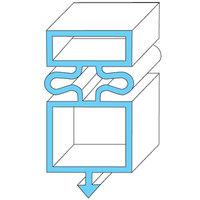 True Refrigeration 810861 Equivalent Magnetic Door Gasket - 23 1/4 inch x 50 3/8 inch