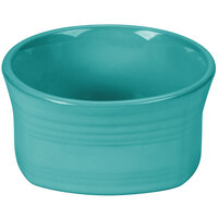 Homer Laughlin 922107 Fiesta Turquoise 20 oz. Square Bowl - 12/Case