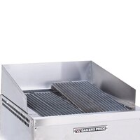 Bakers Pride 21888436 Dante Series Stainless Steel Splashguard