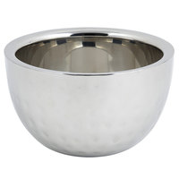 Bon Chef 61258 1 Qt. 8 oz. Hammered Finish Double Wall Bowl