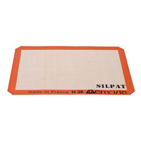 Ateco SP 16 SILPAT® 11 7/8 inch x 16 1/2 inch Half-Size Silicone Non-Stick Baking Mat (August Thomsen)