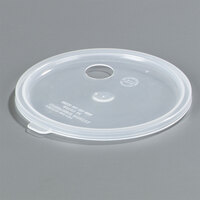 Carlisle 020430 Clear Lid with Hole for 2.7 Qt. Classic Crocks