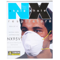 Harmful Dust N-95 Valved Particulate Respirator - 10/Box