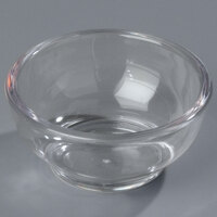 Carlisle 083107 2.5 oz. Clear Round Plastic Souffle Cup - 144 / Case