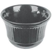 Tablecraft CW1453GR 16 oz. Granite Cast Aluminum Condiment Bowl