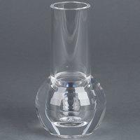 Carlisle 465107 3 3/4 inch x 6 1/4 inch Clear Acrylic Bud Vase - 6 / Case