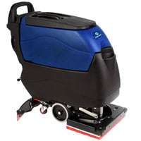 Pacific 855405 S-20 20 inch Walk Behind Orbital Auto Floor Scrubber with Traction Drive - 155AH Lead Acid Wet Batteries with Charger