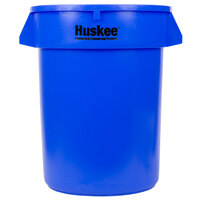 Continental 3200BL 32 Gallon Blue Huskee Trash Can