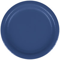 Creative Converting 791137B 7 inch Navy Blue Paper Plate - 240/Case