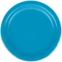 Creative Converting 793131B 7 inch Turquoise Paper Lunch Plate - 240/Case