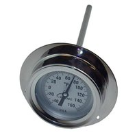 All Points 62-1044 2 inch Recessed Dial Thermometer With 6 inch Stem Probe