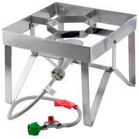 Backyard Pro Stainless Steel Single Burner Outdoor Patio Stove / Range
