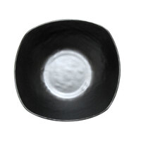 Elite Global Solutions JW4033 Ore 8 oz. Black Square Bowl