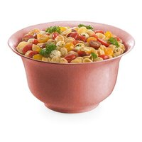 Tablecraft CW3130GG 3.25 Qt. Ginger Cast Aluminum Tulip Salad Bowl