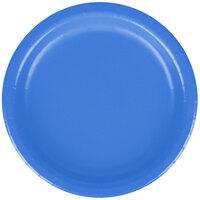 Creative Converting 79145B 7 inch True Blue Paper Plate - 240 / Case