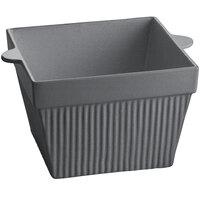 Tablecraft CW1490GR 6.5 Qt. Granite Cast Aluminum Square Bowl