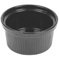 Tablecraft CW1620N 1 Qt. Natural Cast Aluminum Souffle Bowl with Ridges