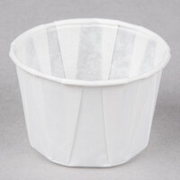 Genpak F125 1.25 oz. Harvest Paper Souffle / Portion Cup 5000 / Case