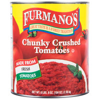 Furmano's #10 Can Chunky Crushed Tomatoes - 6/Case