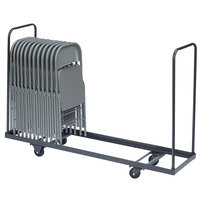 Correll C1972 19 inch x 72 inch Standing Folding Chair Truck