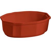 Tablecraft CW1780CP 2 Qt. Copper Cast Aluminum Oval Prism Bowl