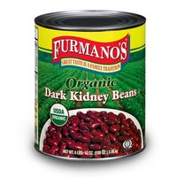 Furmano's Organic Dark Kidney Beans in Brine #10 Can