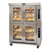 Doyon JAOP10G Double Deck Jet Air Gas Oven Proofer Combo - 85,000 BTU