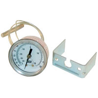 All Points 62-1108 2 inch Dial Thermometer with U-Clamp and 29 inch Capillary