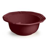 Tablecraft CW6210TC 5 Qt. Terra-Cotta Cast Aluminum Queen Anne Salad Bowl