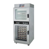 NU-VU OP-4/8M Double Deck Electric Oven Proofer Combo - 240V, 3 Phase, 7.2 kW