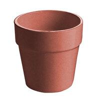 Tablecraft CW1445GG 2 Qt. Ginger Cast Aluminum Round Condiment Bowl