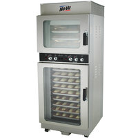 NU-VU OP-3/9M Double Deck Electric Oven Proofer Combo - 5.2 kW