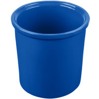 Tablecraft CW1665BL 1.25 Qt. Cobalt Blue Cast Aluminum Condiment Bowl