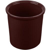Tablecraft CW1665TC 1.25 Qt. Terra-Cotta Cast Aluminum Condiment Bowl