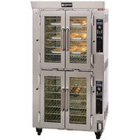 Doyon JA14G Jet Air Double Deck Gas Bakery Convection Oven - 130,000 BTU