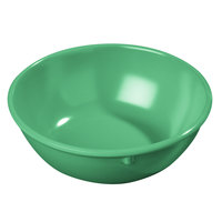 Carlisle 4352109 Dallas Ware 14 oz. Meadow Green Nappie Bowl - 48/Case