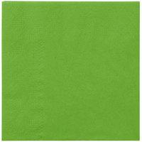 Hoffmaster 180361 Fresh Lime Green Beverage / Cocktail Napkin   - 250/Pack