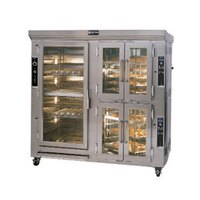 Doyon CAOP12 Two Section Circle Air Electric Oven Proofer Combo with Rotating Racks - 29.7 kW