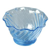 Carlisle 453054 Ice Blue 5 oz. Tulip Dessert Dish - 24/Case
