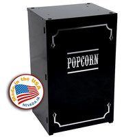 Paragon 3070920 Black Premium Popcorn Stand for 6 oz. and 8 oz. Poppers