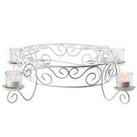 Wilton 307-351 Votive Candlelight Cake Display Stand - 21 1/2 inch x 5 inch