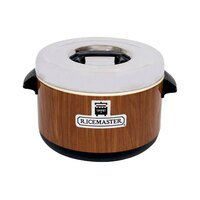 Town 56913W 18 Qt. Sushi Rice Container with Woodgrain Finish