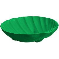 Tablecraft CW17025GN D 6 Gallon Green Cast Aluminum Large Shell Bowl