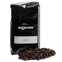 Mezzaroma Dark Regular Whole Bean Espresso 6 - 12 oz. Packs / Case