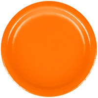 Creative Converting 79191B 7 inch Sunkissed Orange Paper Plate - 240 / Case