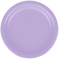 Creative Converting 79193B 7 inch Luscious Lavender Paper Lunch Plate - 240/Case